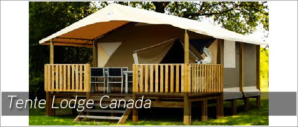 Nos hébergements tentes lodges canada 5 personnes 2 chambres toutes équipées avec gaz, éléctricité, vaisselle, salon de jardin, oreillers et couvertures