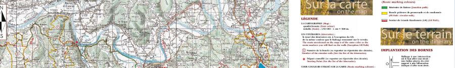 Activités et animations avec de nombreux parcours de randonnée au départ du camping le douzou en Dordogne Périgord Noir
