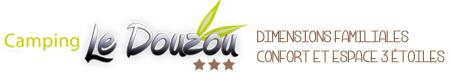 Camping 3 étoiles Le Douzou