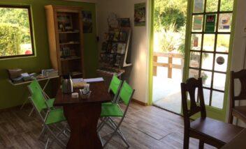 L'accueil du camping le Douzou en Dordogne Périgord Noir est chaleureux