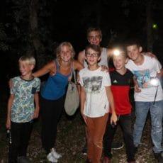 le camping en Dordogne Périgord Noir le Douzou est animé en juillet et en aout