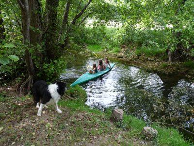 canoe camping dordogne