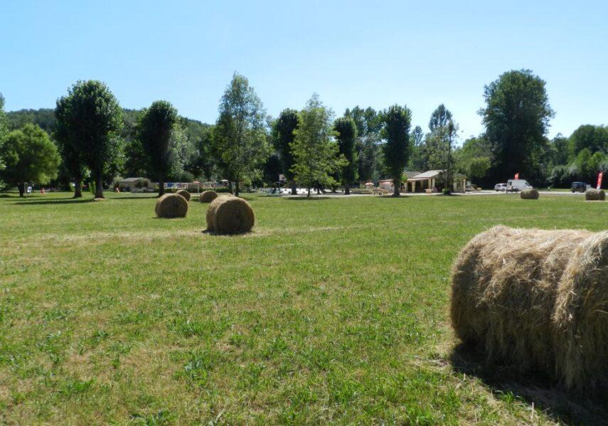 Le camping en Dordogne Périgord Noir est situé en pleine nature loin des routes et des nuisances sur de grands espaces et de grands emplacements