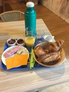 formule petit déjeuner sucré et salé à 6 euros