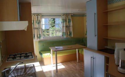 Le mobile antares dispose d'un espace de vie spacieux et confortable