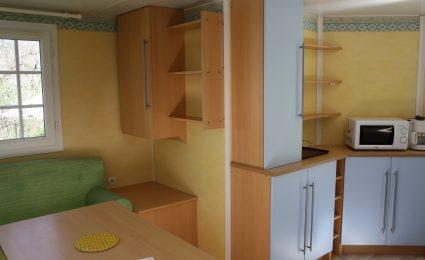 Le mobile home antares dispose de nombreux rangements pour votre confort