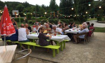Les camping le Douzou en Dordogne Périgord Noir organise des soirées pizza lors d'événements sportifs comme l'euro ou la coupe du monde de football