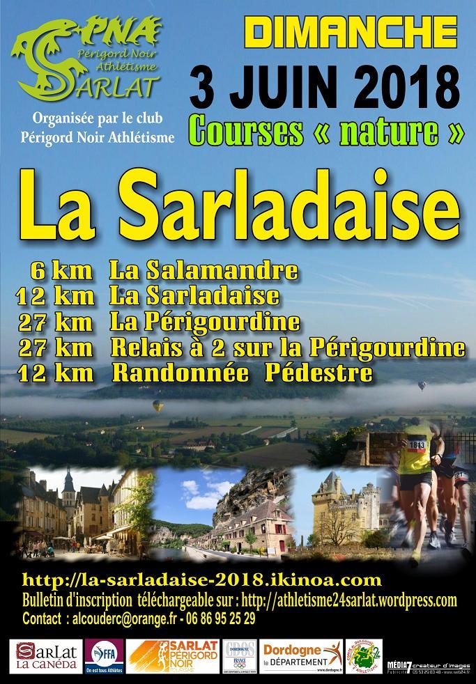 Séjournez le 3 juin 2018 au camping 3 étoiles proche de Sarlat en Dordogne Périgord Noir pour participer à la course à pied trail de la Sarladaise. Profitez du confort et des piscines chauffées lors de votre séjour.