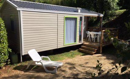 Mobile Home Malaga 2 chambres 4-6 personnes camping Dordogne Périgord Noir 3 étoiles Le Douzou