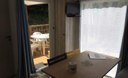 salon mobile home malaga 2 chambres camping dordogne périgord noir 3 étoiles