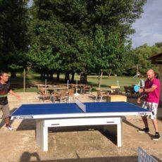 tables de ping pong camping dordogne périgord noir