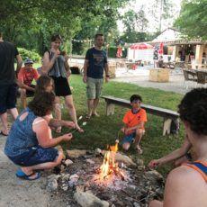 feu de camp camping périgord