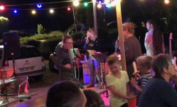 soirée animées danse concert camping périgord