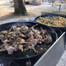 repas confit canard camping périgord