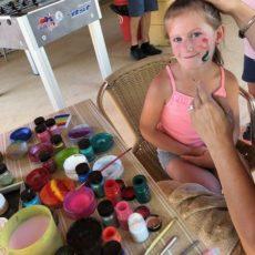 activité maquillage camping perigord 3 étoiles
