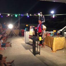 soirée magicien camping perigord