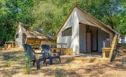 location tente lodge junior xl camping 3 étoiles dordogne périgord