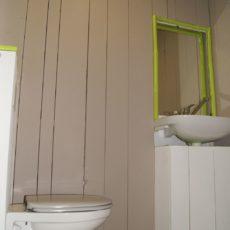 toilettes près de l'accueil et des piscines chauffées camping dordogne périgord noir 3 étoiles le Douzou