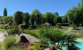 piscine chauffée camping nature dordogne