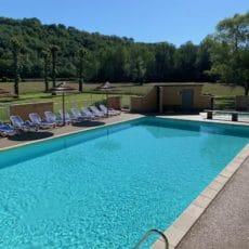 piscine chauffée transats confortables camping périgord noir