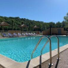 piscine chauffée camping 3 étoiles dordogne