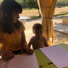 animation petits enfants camping périgord