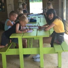 atelier jeunes enfants camping périgord