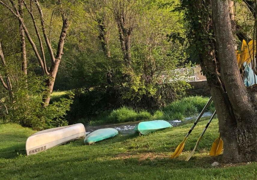 canoë gratuit camping dordogne pas cher