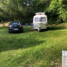 caravane vintage camping dordogne