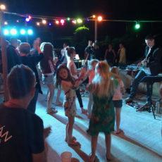 danse soirée repas concert camping dordogne