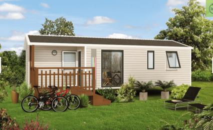 location mobile home dordogne malaga trio 3 chambres 6-8 personnes