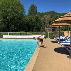 piscine enfant camping dordogne