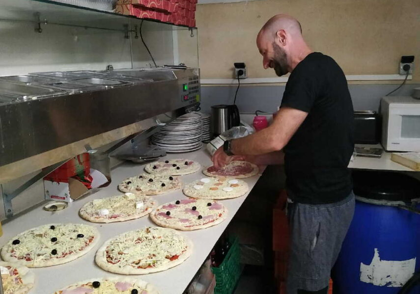 pizzas snack camping dordogne