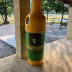recyclage plastique camping écologique dordogne