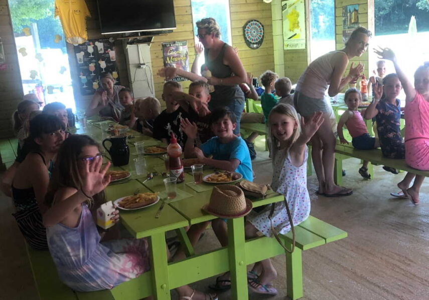 repas enfants camping périgord