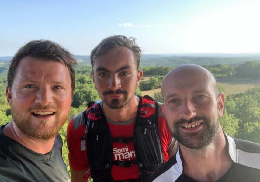 running tour de moncalou camping dordogne