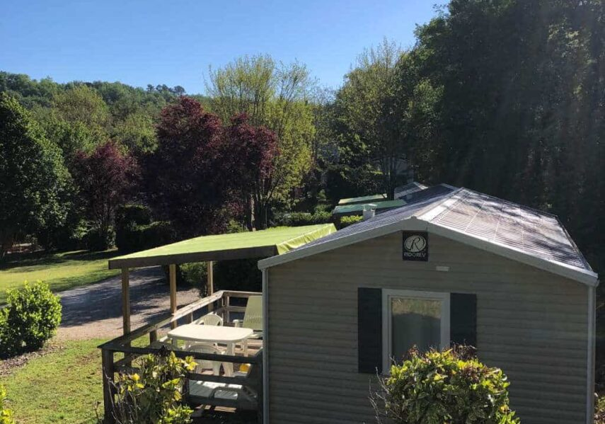 soleil terrasse location mobile home dordogne