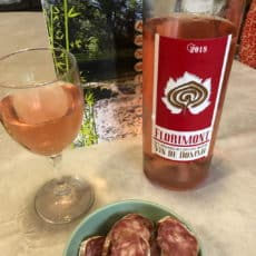 vin domme rosé camping dordogne