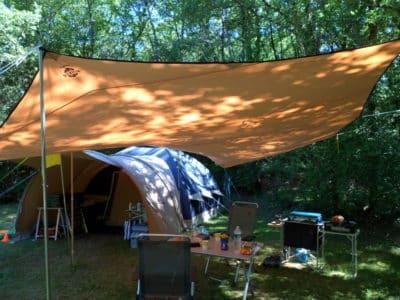 emplacements tente caravane camping dordogne le douzou