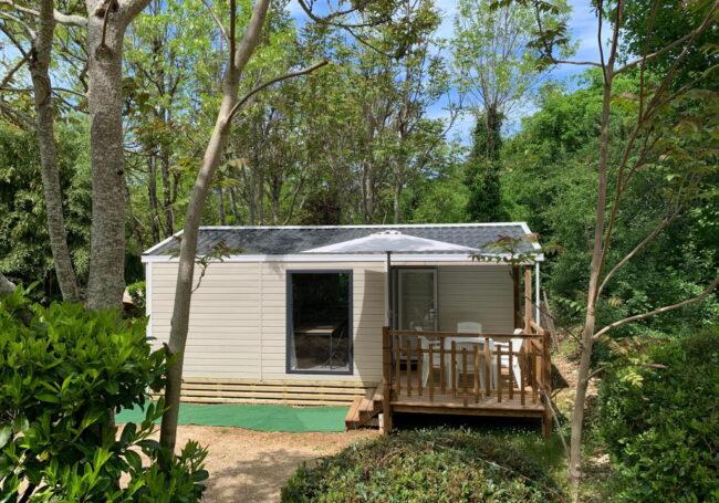 mobile home malaga duo 2 chambres camping dordogne 3 étoiles le douzou