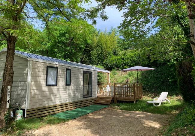 mobile home malaga trio 3 chambre camping dordogne 3 étoiles le douzou