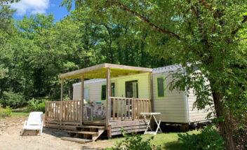 mobile home bermudes trio 3 chambres camping dordogne périgord noir le douzou