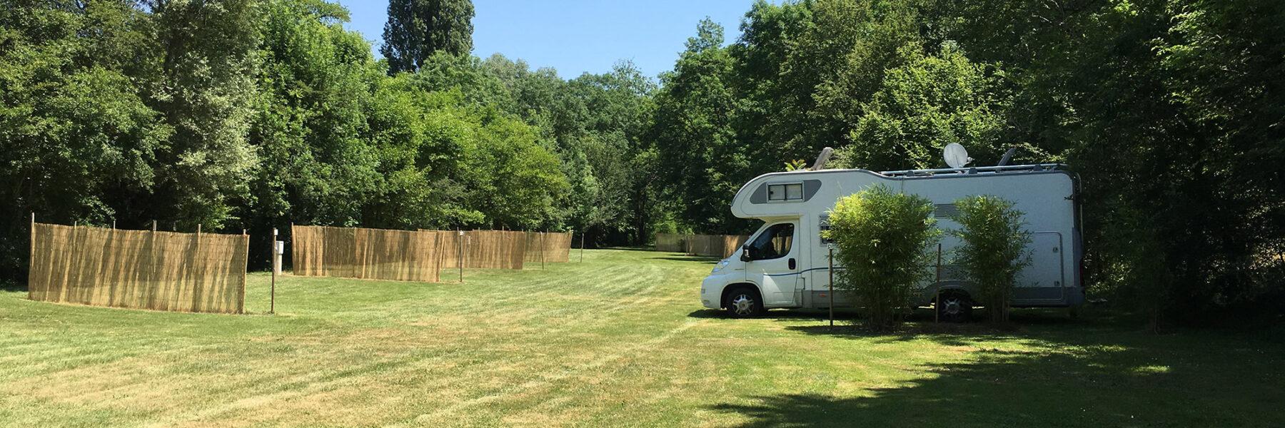 Emplacement pour camping-car camping périgord noir