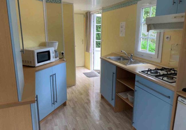 cuisine mobile home antares camping périgord noir